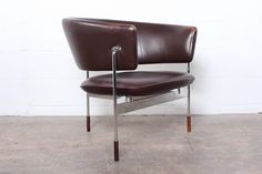 "Very Rare ""Sirkel"" Lounge Chair by Sigurd Resell for Rastad"