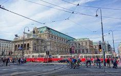 Ezt minden reggel láttam. :)  Vienna, Opera House