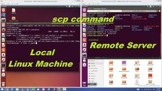 scp command - SCP to Securely Transfer Files/Folders in Linux