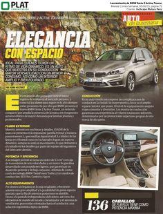 Inchcape Motors: Lanzamiento de BMW Serie 2 Active Tourer en la revista Correo Semanal de Perú (05/02/15)