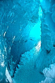 Visit to the Crystal Ice Cave on Vatnajökull, South Iceland. Photo by Stacey Kat Iceland Destinations, Iceland Travel, Places To Travel, Places To See, Travel Around The World, Around The Worlds, Crystal Caves, Ice Caves, Scenery Photography