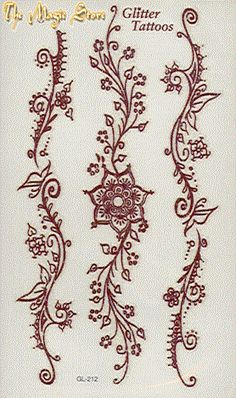 Simple henna designs - Mehndi