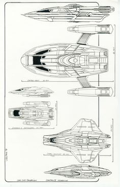 Star Trek Enterprise-E. First is the Captains Yacht (700×1097)