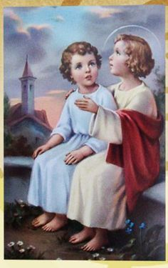 Child Jesus with St. John the Baptist.