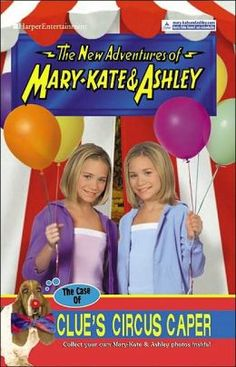 Case of Clue's Circus Caper (The New Adventures of Mary-Kate & Ashley Series #35) by Mary-Kate Olsen, Harperentertainment, Mary-Kate &. Olse...