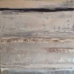 "Saatchi Art Artist Hennie van de Lande; Painting, ""Desolated area"" #art"