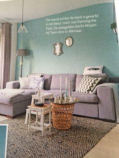 1000 images about kleurtje op de muur on pinterest met van and wands - Grijze wand taupe ...