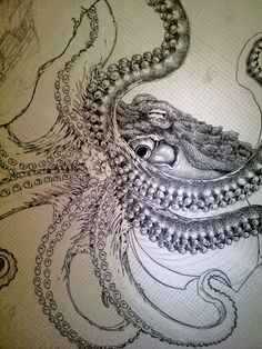 Love the tentacle detail