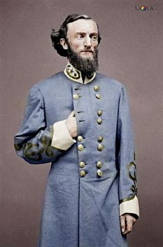 Confederate Major General John S Marmaduke (March 14, 1833 -December 28, 1887)
