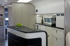 Boeing Offers New 737 Business Jet: One could get a lot of good cooking done in this kitchen in the BBJ 737