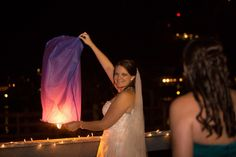 Sky lanterns to send off at your wedding!