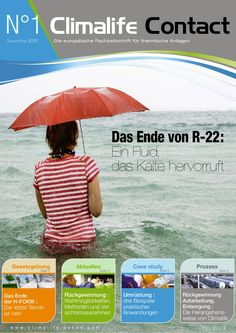 Climalife Contact No. 1 - Die europäische Zeitschrift für thermische Anlagen
