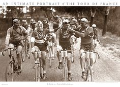 SMOKERS Vintage Tour de France Poster - Vervaeke and Geldhol smoked the cigarette, Tour of the 1920