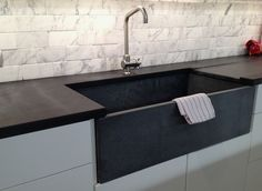 M. Teixeira Soapstone Countertop and Sink, Remodelista entire posting re soapstone countertops