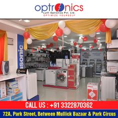 Buy mobiles, cameras, laptops and other electronics from our showroom at major discount rates. Venue: 72A, PARK STREET (Between Mullick Bazaar & Park Circus) Or Call Us at: +91 3322870362
