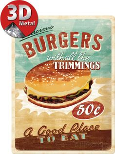 Burgers Peltikyltit