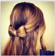Beautiful bow of hair!!!!