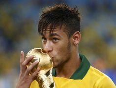 Neymar and the Brazilians win  3-0 win over Spain in the Confederations Cup.  Looks as if Spain won't ever add this trophy to their collection.