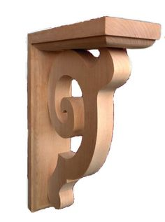 "Classic Plain Corbel / 14""HX3""WX9""D - exterior corbels, interior corbels, hand curved corbels, large , medium , small and mini corbals, corbels for sale   Corbel Place"