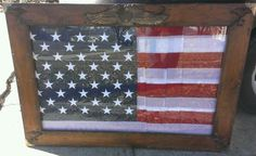 An antique flag from Pearl Harbor, Hawaii brought to me by a customer to build a frame around it.