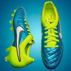 Nike Tiempo Legend - Blue Lagoon. #WWC #FIFA Soccer Gear, Soccer Boots, Football Boots, Soccer Cleats, Blue Lagoon, Fifa, Tacos, Sneakers