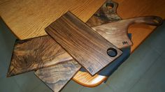 My favorite walnut cutting boards