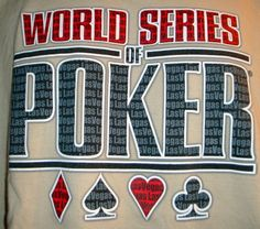 World Series of Poker T-Shirt Size L Tan Las Vegas #Unknown #GraphicTee