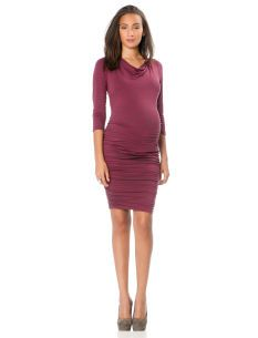 A Pea in the Pod 3/4 Sleeve Maternity Dress