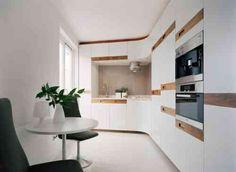 peinture pour cuisine blanche et bois avec dosseret beige