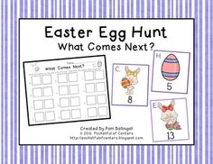Easter:  What Comes Next? Game