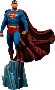 Superman Premium Format Figure from Sideshow Collectibles | Comic Book Statues and Busts