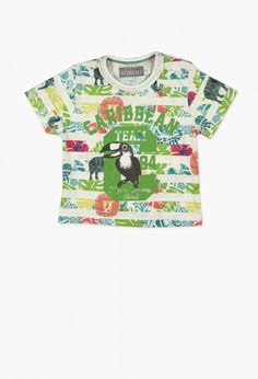 bebe-nino-Camiseta punto liso de bebé niño