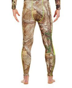 Under Armour Men's ColdGear® Evo Scent Control Leggings Medium REALTREE AP-XTRA