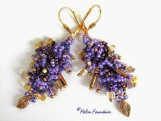 An Original Design by Helen Fountain http://helenfountainbeadweaver.blogspot.com/