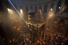 Places to go in Israel for summer: Church of the Holy Sepulchre is over 1,600 years old. Check out the full list of 25 places to go in Israel this summer