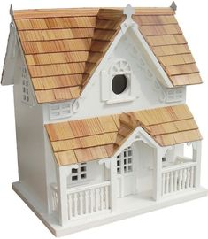 Classic Series Gingerbread Cottage With Bracket by Home Bazaar (HB-2038S)