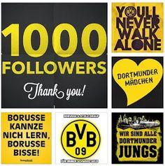 Foto: Guten morgen, Borussen. Ihr seid der Wahnsinn. 👍⚽ 1000 Dank❤⚽👍  Dortmund, Dortmund, Dortmund, Dortmund und wir werden immer Borussen sein. Es gibt nie nie nie einen anderen Verein. Niemals nie. Forever BvB in guten wie in schlechten Zeiten. Unser ganzes Leben, unser ganzer Stolz. Wir sind alle Dortmunder Jungs. Wir sind alle Dortmunder Mädchen. Einmal Borusse, immer Borusse 👍❤⚽