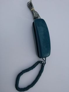 Fab Turquoise Phone/ Vintage Telephone / 80s by DameWhoFrames