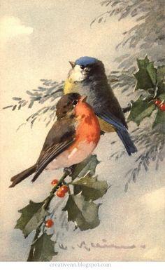 Vintage Catherine Klein Postcard