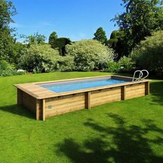 Procopi Urban Pool XL x m Holzschwimmbecken Pool Verrohrung, Swimming Pools, Above Ground Pool, In Ground Pools, Patio, Backyard, Diy Bench, Ping Pong Table, Pools