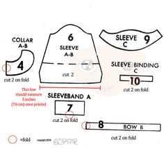 Button Front Dress Pattern for Blythe part 2 | Flickr - Photo Sharing!