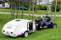 CanAm Spyder camping trailer - Google Search