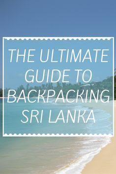 Budget Guide To Backpacking Sri Lanka (http://www.goatsontheroad.com/budget-guide-to-backpacking-sri-lanka/?utm_content=buffer90b45&utm_medium=social&utm_source=pinterest.com&utm_campaign=buffer)