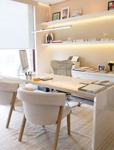 small office for small apartment (136) #officedesignsbusiness
