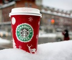 i love starbucks during the holiday season!