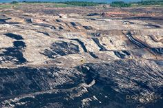 Open pit coal mine - Kalimantan Indonesia  #mining #kalimantan #indonesia #boat #coal_mine #transport #borneo
