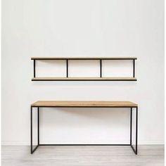 Loft Furniture, Steel Furniture, Home Decor Furniture, Industrial Furniture, Furniture Projects, Rustic Furniture, Furniture Design, Furniture Stores, Furniture Removal