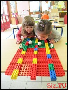 Build with Duplo; 93 examples and inspiration for toddlers and preschoolers -… - Kinderspiele Lego Duplo, Lego Ninjago, Lego Activities, Lego Games, Preschool Activities, Lego Themed Party, Lego Birthday Party, Legos, Hama Beads Minecraft