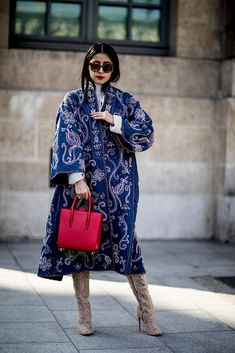 9f810d809e3d 101 Best Street Style Looks From Outside the Paris Fashion Week Fall 2018  Shows