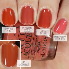 OPI Yank My Doodle | Washington D.C. Collection Comparisons | Peachy Polish
